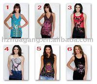 Fashion ED Hardy Women Shirts,Women Sleeveless Tshirt,Brand Shirts