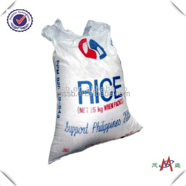 55*105cm plastic bag china pp woven sacks packing rice