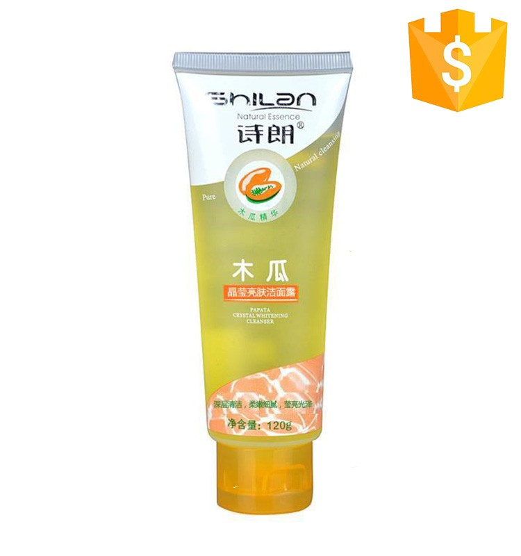 cheap japan women dry oily skin lavender lemon ossein snail extract face wash