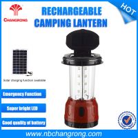 5V Mobile Phone Charger Led Solar Camping Lights , Mini Solar Led Camping Light With Hand Crank