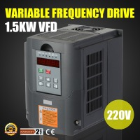 New Update 220v 1.5KW AC Variable Frequency Inverter For Spindle Motor