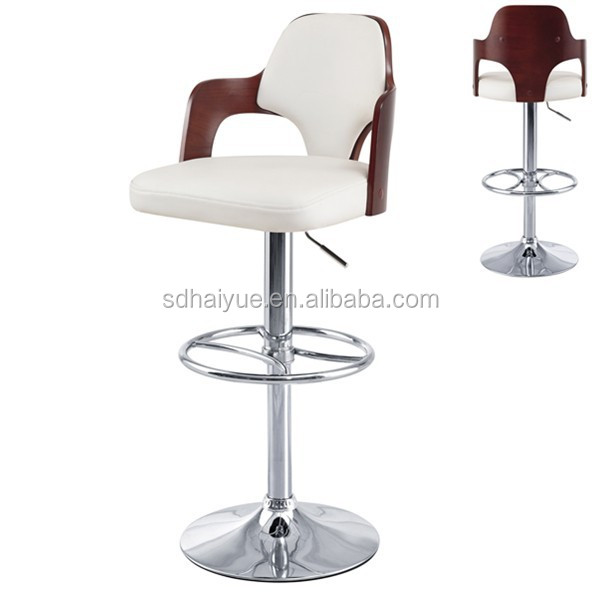 Unique Design Wooden Cheap Swivel Bar Chair/Bar Stools/Bar Furniture for Home and Bar