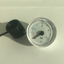 40mm 1.5 inch small cheap black steel case pressure gauge