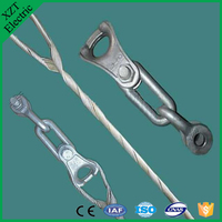 high quality preformed armour rod/ADSS Tension clamp/twisted wire clampprotective fittings/pole line hardware