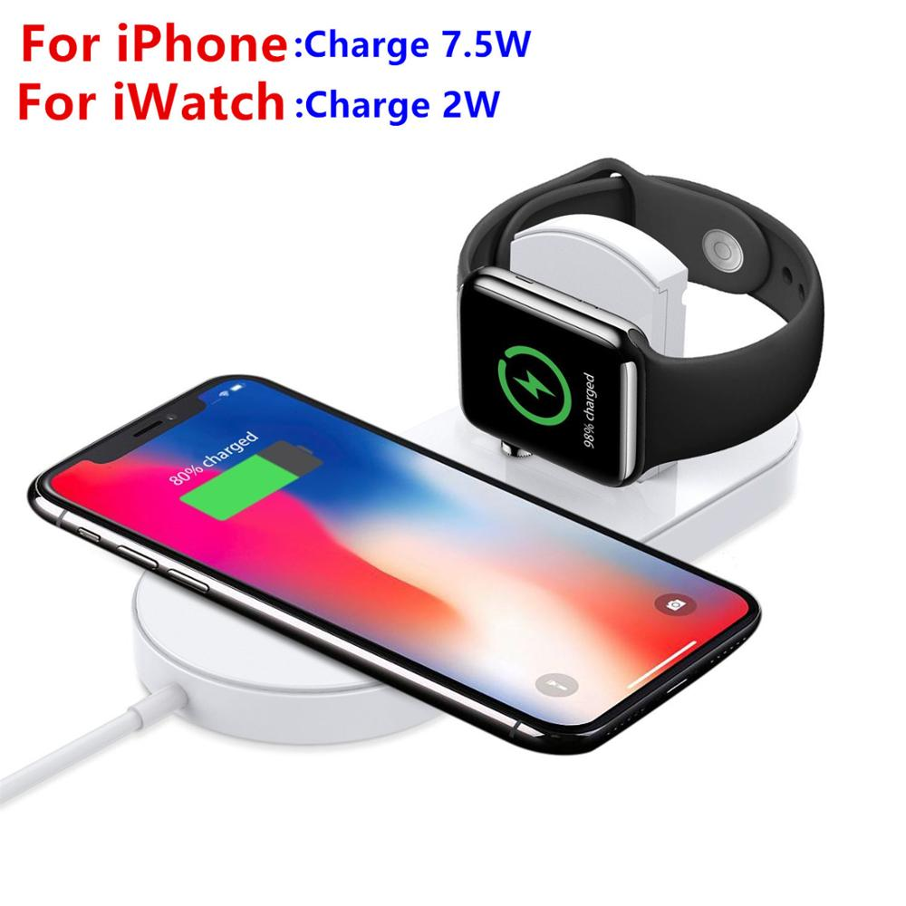 New design 2 in 1 wireless power bank charging Watch Wireless Charger For <strong>Apple</strong>