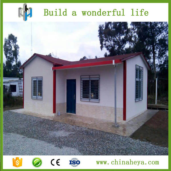 HEYA INT'L fast construction cheap eps wallboard prefab house designs philippines