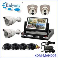 "Wholesales DIY Full HD 720p/960p/1080p hd dvr kit with 7"" LCD Monitor"
