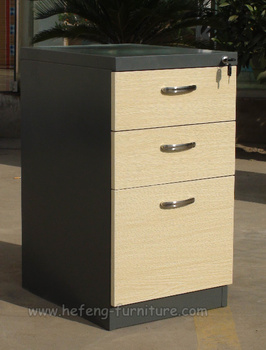 3 Drawer Metal Mobile Pedestal