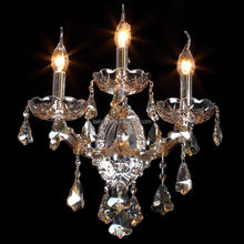 Crystal turkey wall sconce