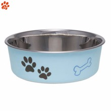 Manufacturer Price Pet Feeder Metal Dog Food or Drink Water Stainless Dog Bowl