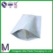 Aluminum Foil Silver Color Ziplock Mylar Bag/ Stand Up Zipper Lock Food Pouch For Packaging,white stand up foil pouch