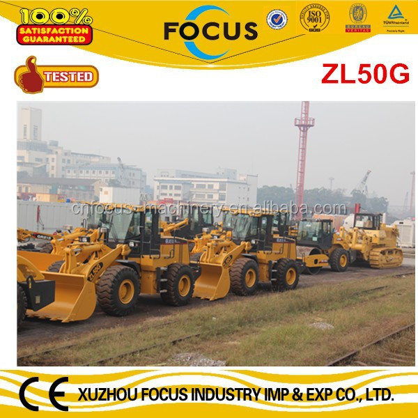 XCMG Wheel Loader ZL50G with cheap price in Tanzania