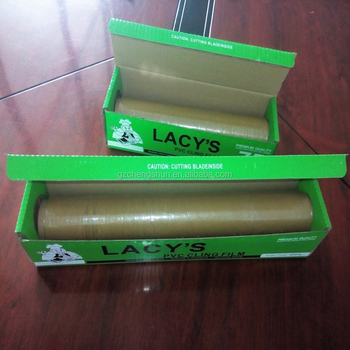 Food grade PVC cling wrap film