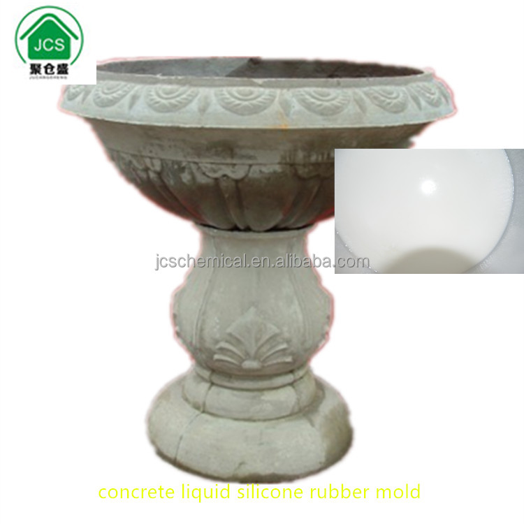 JZ-6006 elegant mold for grc cement sculpture concrete baluster columns fence tile sink GRC cement mold liquid silicone rubber