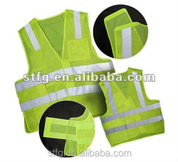 Custom factory workwear fishing vest reflective