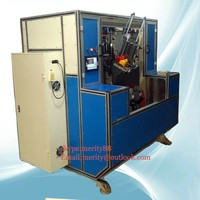 low noise and high speed 5 axis 3 heads drilling and tufting brush cnc machinery item no. mx192