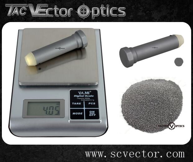 Vector Optics Stock Tube Kit Gen 2 H2 Buffer Assembly For AR 15 Reduce Recoil W/ 4.05oz Granulated Tungsten
