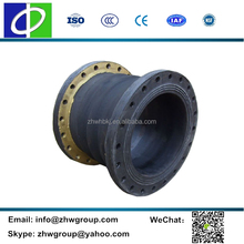 High anti-corrosion dredging rubber flange joint flexible hose