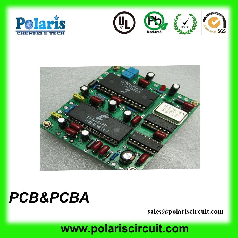 Hasl Lead Free Speaker Printed Circuit Board 94vo Six Layer Lf Suppliers And Manufacturers At