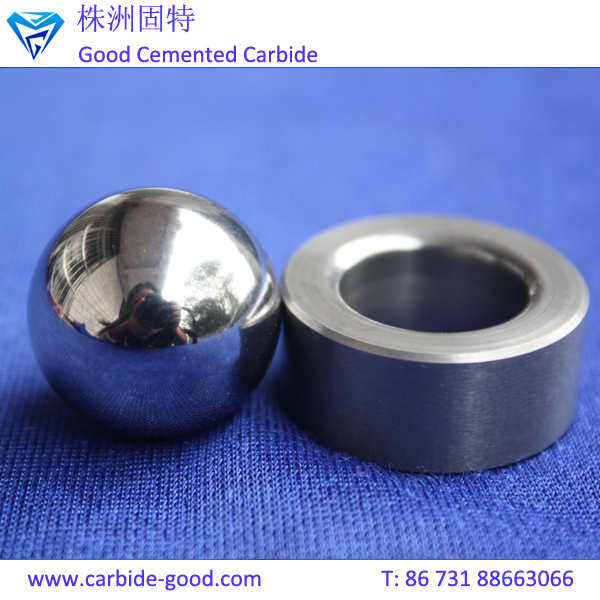 Customized Tungsten Carbide Ball Valve Ball