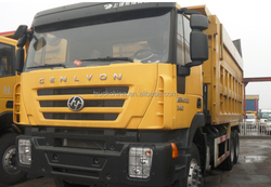Trucks for sale IVECO Hongyan Genlyon 380hp 6x4 Dump Truck for Sale