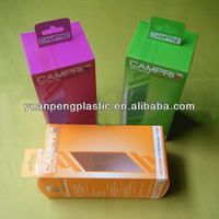folding corrugated plastic handle box, clear pp box, printed pp box