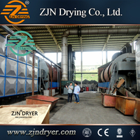 Bean Dreg rotary drum dryer machinery from china manufacturer
