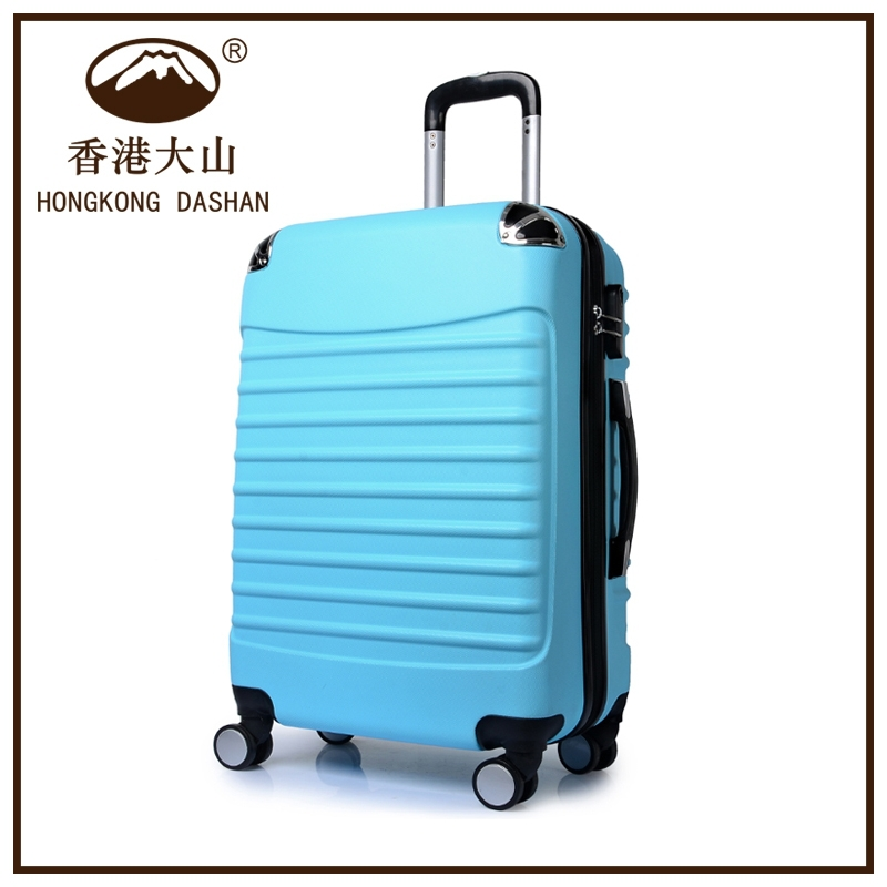 Baoding AT8076 HK DA SHAN cabin size travel trolley luggage bag for sale