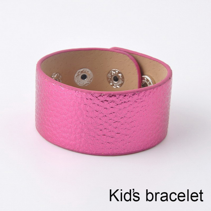 2016 Hot Selling Monogram Leather Cuff Bracelet Pulseras 2 Row Silver Plated Multicolor Leather Bracelet For Kids Women Men