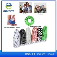 Wholesale Colourful Designs Medical Ice Bag Various Sizes Fabric Ice Pack