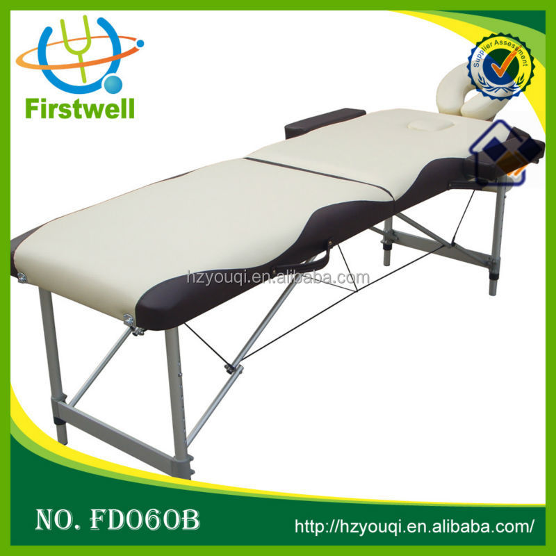 Portable folding wooden Massage Table Spa Facial Tattoo & Reiki Bed for sale