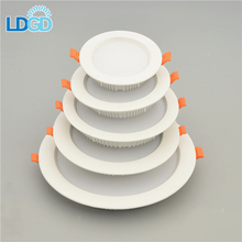 deepset led surface mount downlight cover deep sink down light square