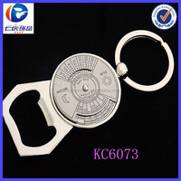 Hot Sale Mini Unique Perpetual calendar 50 years bottle opener keyring