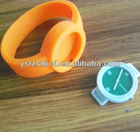Silicone wristband pocket watch for kids