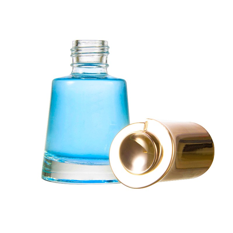 cosmetic airtight glass jars nail varnish bottle