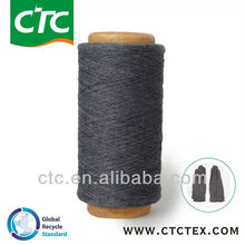 raw recycled cotton yarn for glove