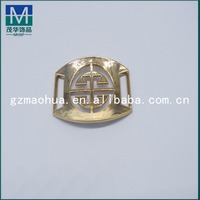 PB030 High quality custom zinc alloy gold plated fashion plastic buckle for bag shoe and belt