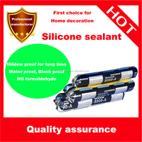 Independent research and development neutral silicone glass sealant glue