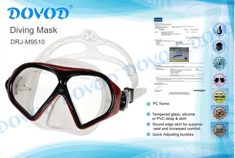 2015 professional Diving Mask