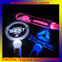 2013 promotional foam led sticks,free customized shape and logo