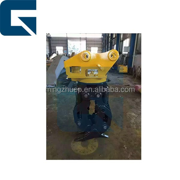 Excavator 360 degree rotating grapple, 200 series rotator assembly,Excavator Rotator Grasping