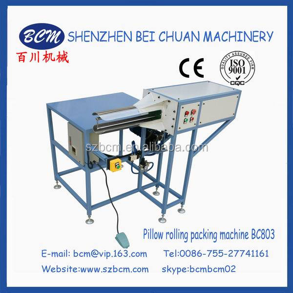 Pillow rolling packing machine in china BC803