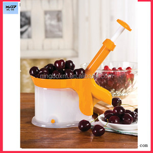 Cherry Pitter As Seen On TV Olives Pits Stoner Removal Core Easy Squeeze Press Cherry Corer Kitchen Tool