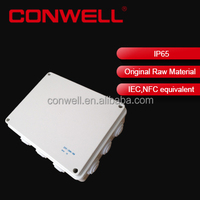 plastic electrical PVC cable box metal enclosure for power supply