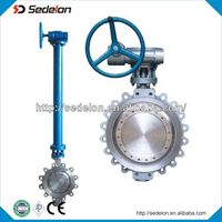 Double Flange Stainless Steel Butterfly Valve