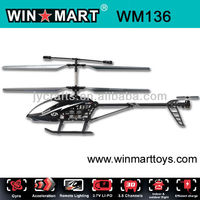 Medium Size 3.5 channel metal rc Helicopter