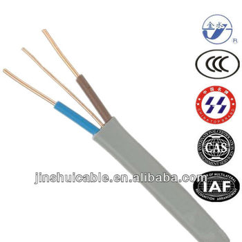 British Standard Flat Cable Twin and Earth Cable 1.5mm2 2.5mm2 4mm2