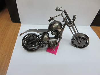 2014 Newest Top Quality Fashion wholesale handmade metal motorcycle model