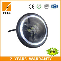 7inch led headlights led lights for cars led halo rings
