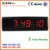 [Ganxin] 6digital 7segment led Alarm electronic wall Clock with WiFi Fuction